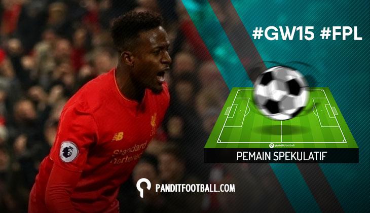 Pemain Spekulatif FPL Pilihan PanditFootball: Gameweek 15