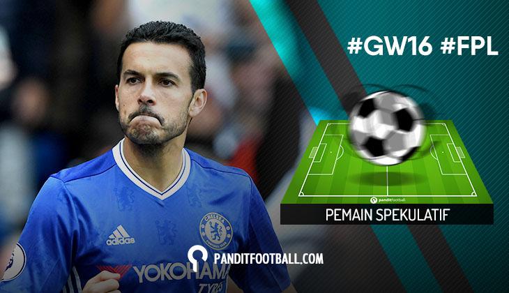 Pemain Spekulatif FPL Pilihan PanditFootball: Gameweek 16