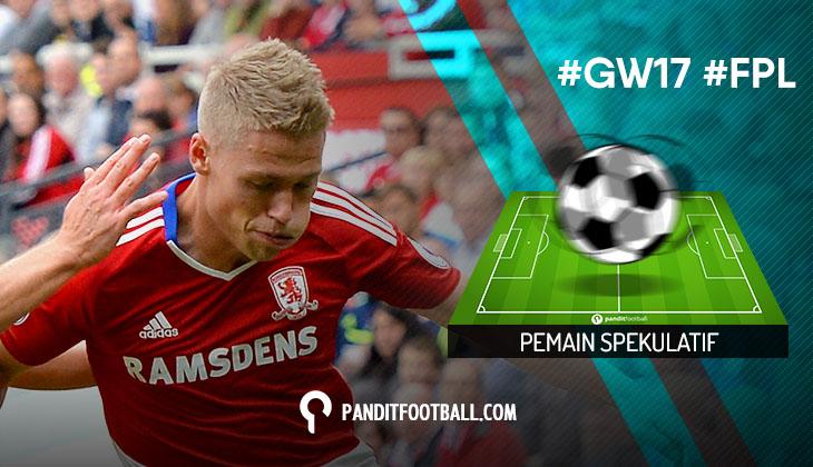 Pemain Spekulatif FPL Pilihan PanditFootball: Gameweek 17