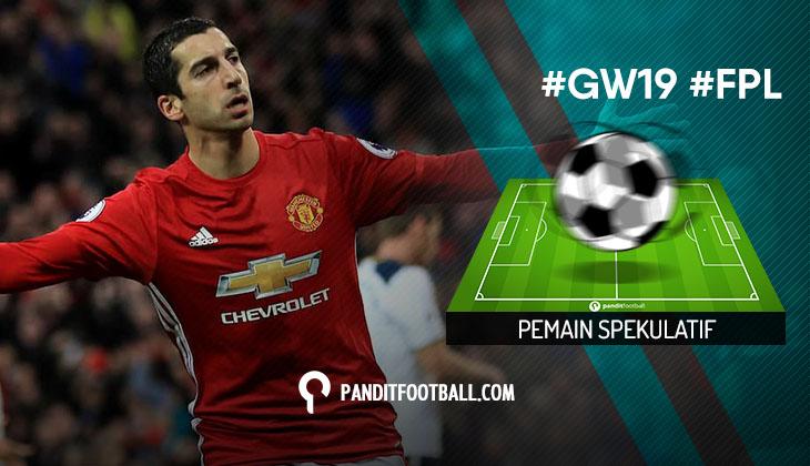 Pemain Spekulatif FPL Pilihan PanditFootball: Gameweek 19