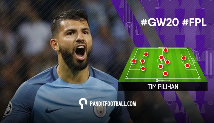 Tim Pilihan PanditFootball: Gameweek 20