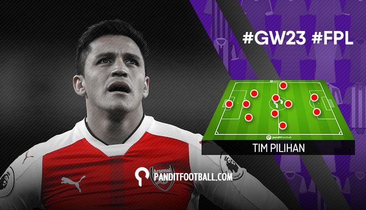 Tim Pilihan PanditFootball: Gameweek 23