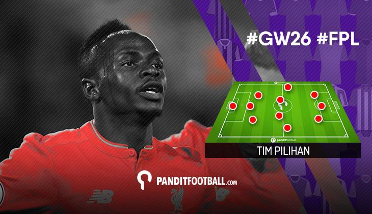 Tim Pilihan PanditFootball: Gameweek 26