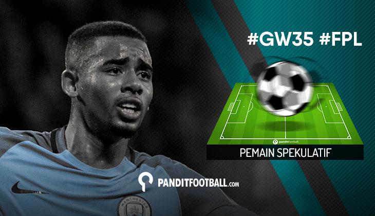 Pemain Spekulatif FPL Pilihan PanditFootball: Gameweek 35