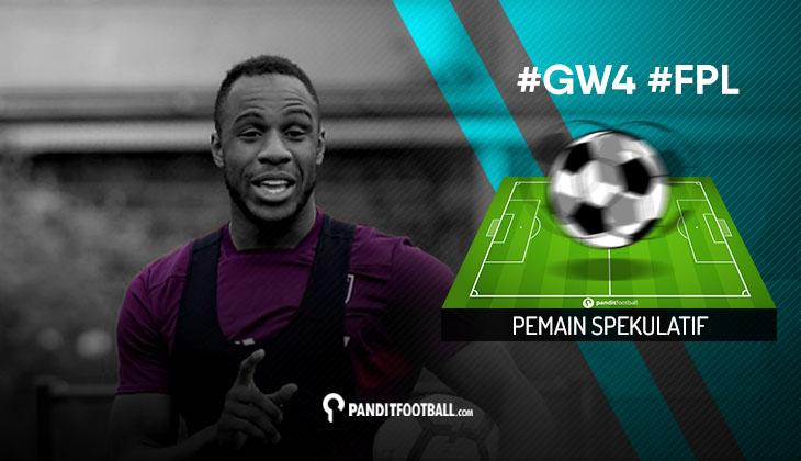 Pemain Spekulatif FPL PanditFootball: Gameweek 4