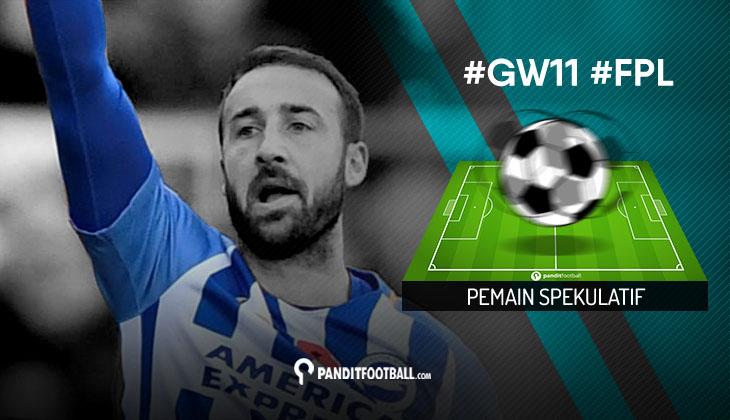 Pemain Spekulatif FPL PanditFootball: Gameweek 11
