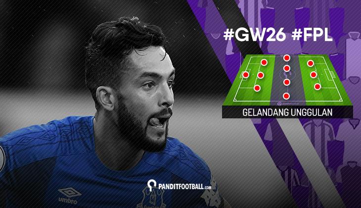 Gelandang Unggulan FPL PanditFootball: Gameweek 26
