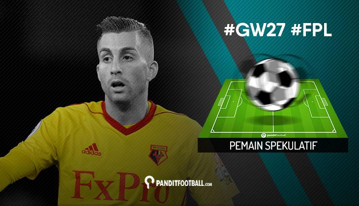 Pemain Spekulatif FPL PanditFootball: Gameweek 27