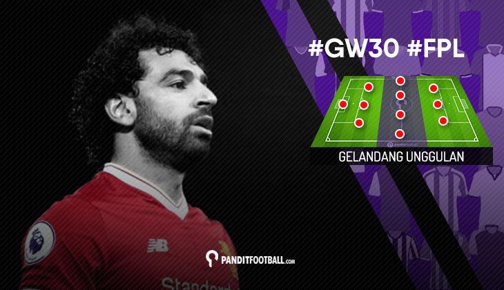 Gelandang Unggulan FPL PanditFootball: Gameweek 30