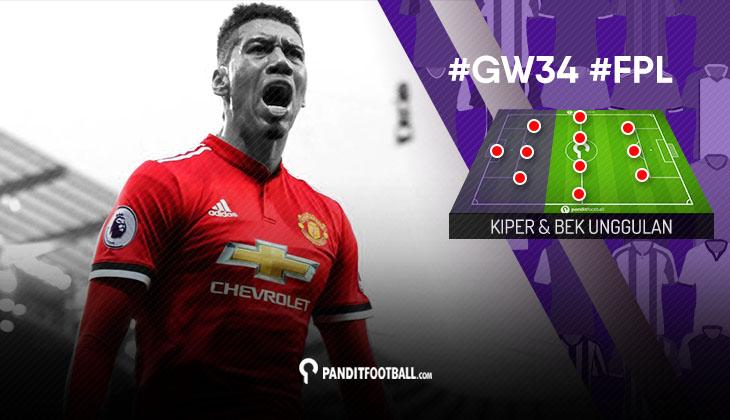 Kiper dan Bek Unggulan FPL PanditFootball: Gameweek 34