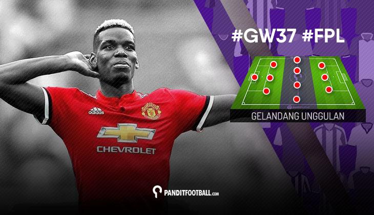 Gelandang Unggulan FPL PanditFootball: Gameweek 37