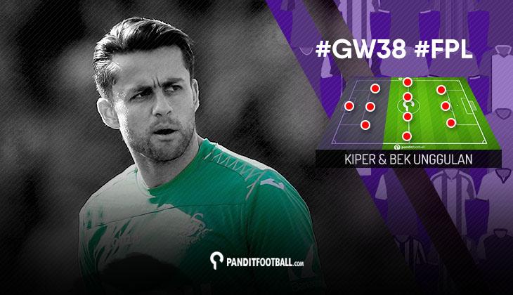 Kiper dan Bek Unggulan FPL PanditFootball: Gameweek 38