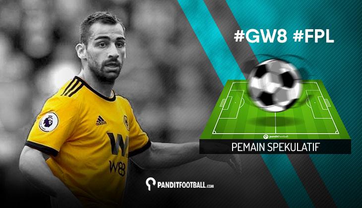Pemain Spekulatif FPL PanditFootball: Gameweek 8