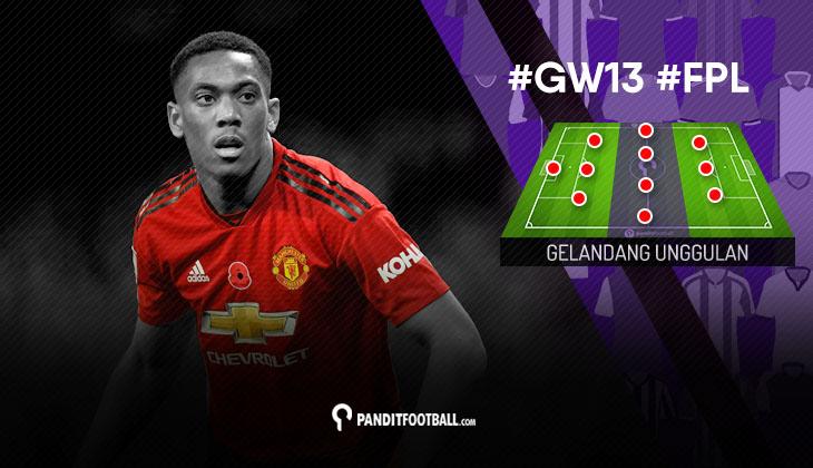 Gelandang Unggulan FPL PanditFootball: Gameweek 13