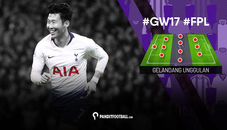 Gelandang Unggulan FPL PanditFootball: Gameweek 17