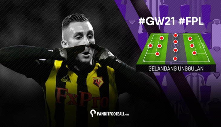 Gelandang Unggulan FPL PanditFootball: Gameweek 21
