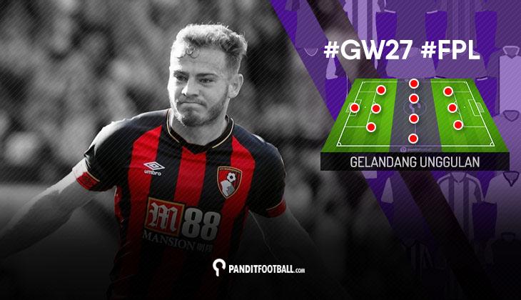 Gelandang Unggulan FPL PanditFootball: Gameweek 27