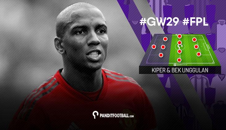 Kiper dan Bek Unggulan FPL PanditFootball: Gameweek 29