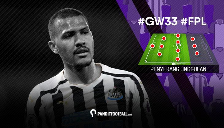 Penyerang Unggulan FPL PanditFootball: Gameweek 33