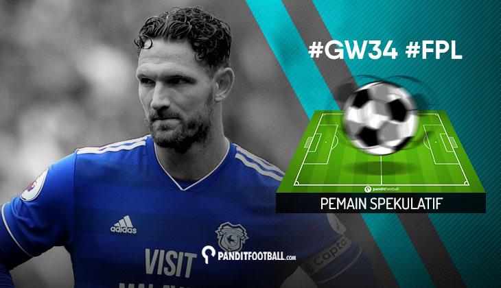 Pemain Spekulatif FPL PanditFootball: Gameweek 34