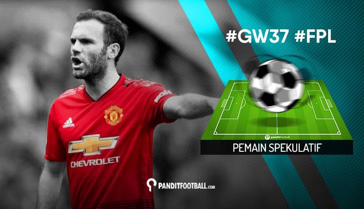 Pemain Spekulatif FPL PanditFootball: Gameweek 37