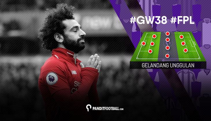 Gelandang Unggulan FPL PanditFootball: Gameweek 38