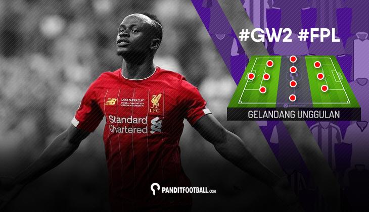 Gelandang Unggulan FPL Pandit Football: Gameweek 2