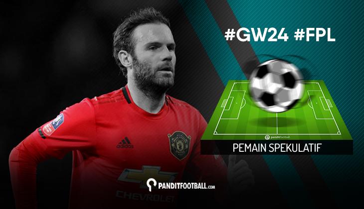 Pemain Spekulatif FPL PanditFootball: Gameweek 24