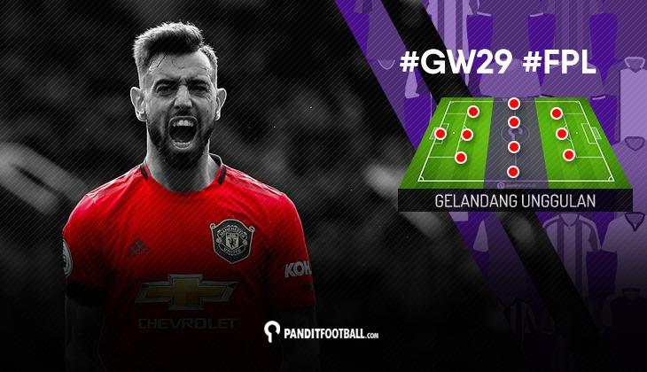 Gelandang Unggulan FPL PanditFootball: Gameweek 29