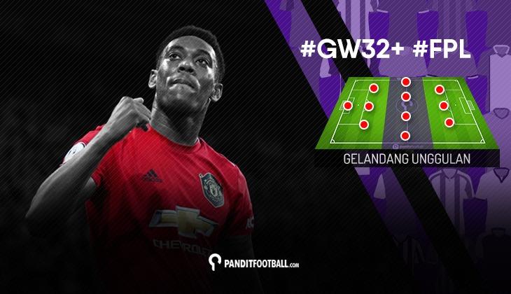 Gelandang Unggulan FPL PanditFootball: Gameweek 32+