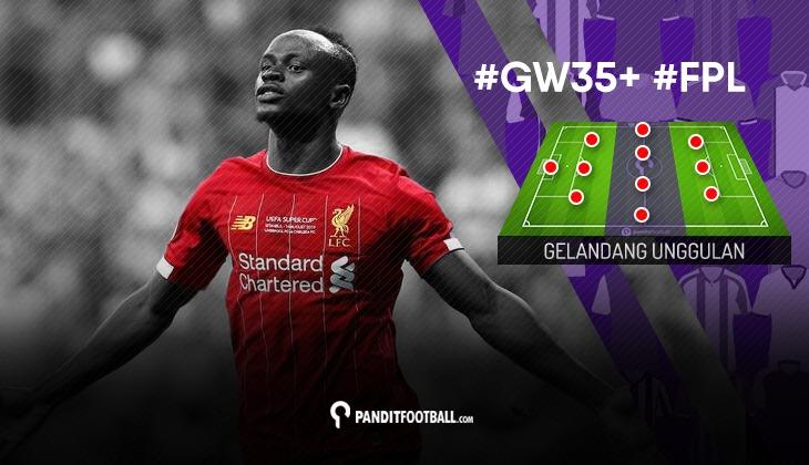 Gelandang Unggulan FPL PanditFootball: Gameweek 35+
