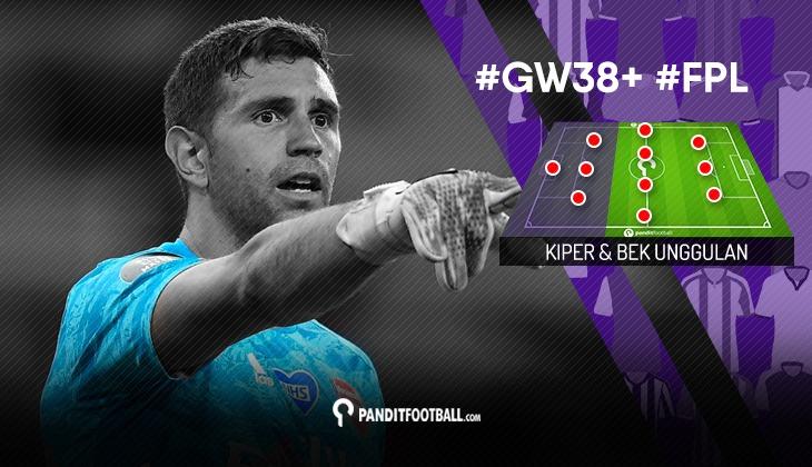 Kiper dan Bek Unggulan FPL PanditFootball: Gameweek 38+