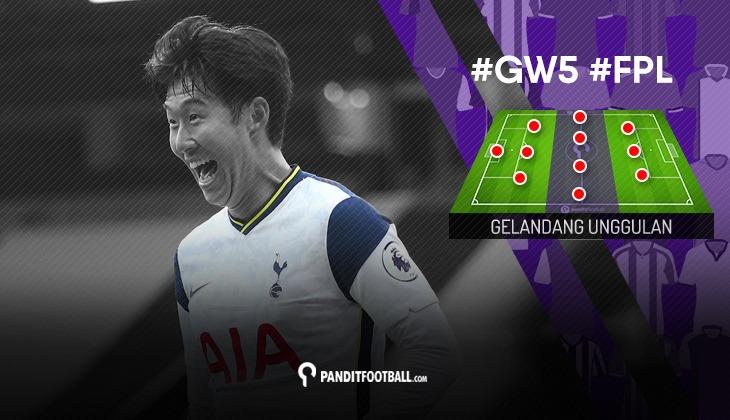 Gelandang Unggulan FPL PanditFootball: Gameweek 5