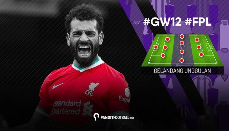 Gelandang Unggulan FPL PanditFootball: Gameweek 12