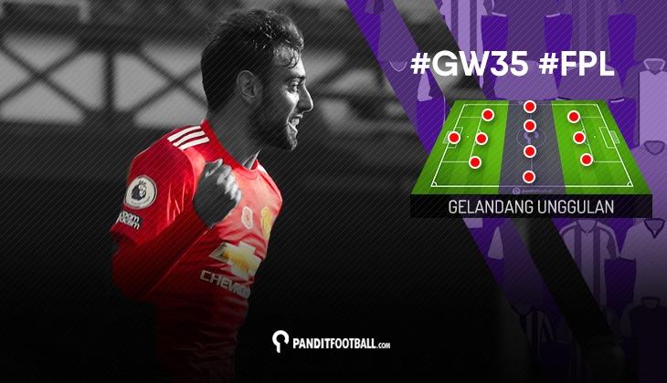 Gelandang Unggulan FPL PanditFootball: Gameweek 35