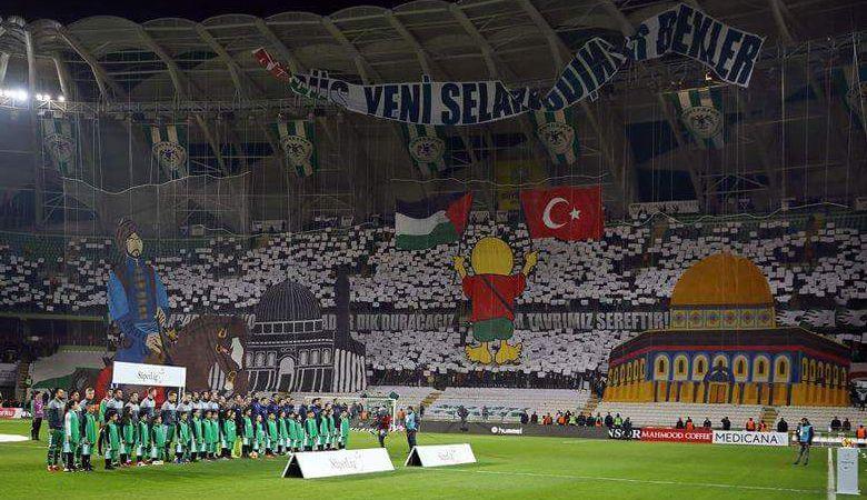 Aksi Solidaritas Suporter Konyaspor untuk Palestina