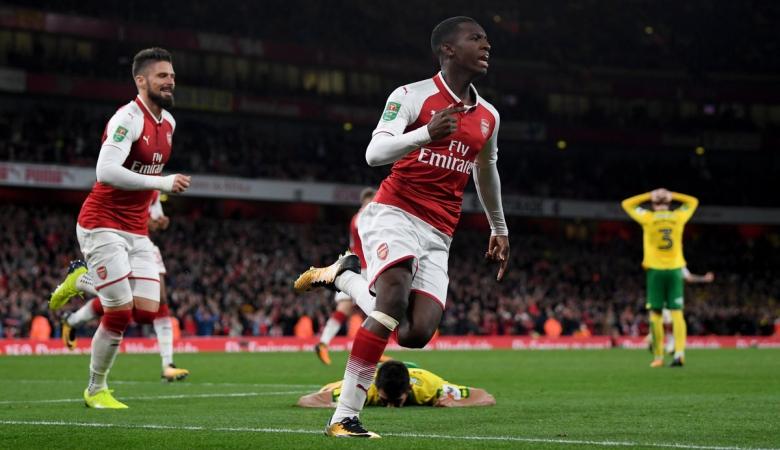 Melihat Prospek Edward Nketiah Bersama Arsenal di Masa Depan