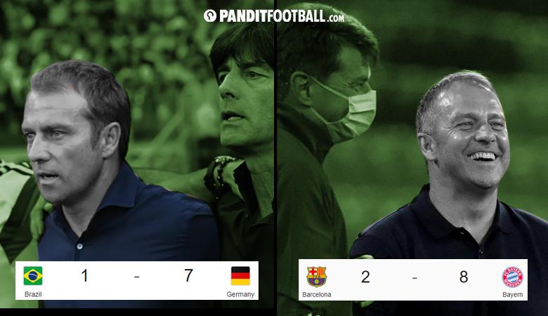 Hansi Flick dalam Dua Pembantaian Besar Sepakbola