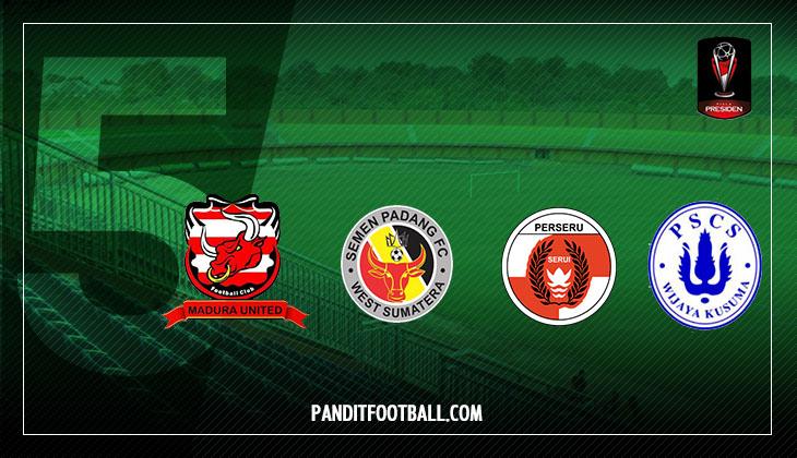 Bekuk PSCS Cilacap 5-0, Semen Padang Lolos ke Babak 8 Besar Piala Presiden 2017