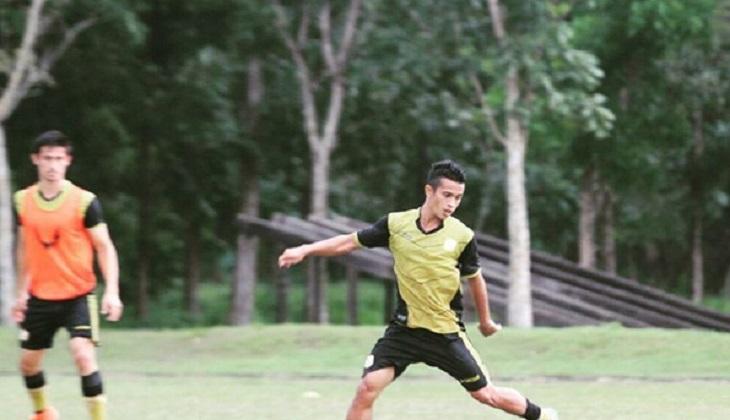 Nazarul Fahmi, Arsenal, dan Gol untuk Barito Putera
