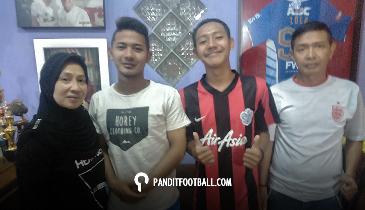Menapaki Awal Jejak Karier Dua Wonderkid Bandung; Gian Zola (Bagian 1)