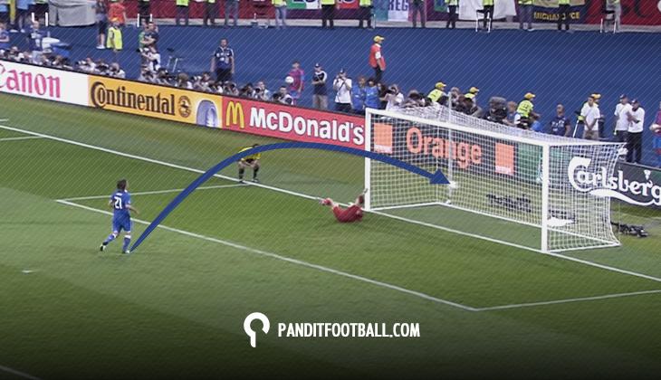 Kenapa Pemain Menendang Penalti dengan Panenka?