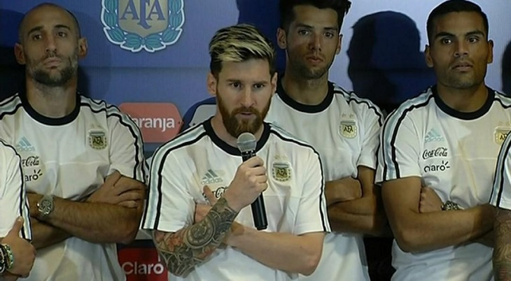 Ketika Messi Pimpin Skuat Argentina untuk Boikot Media