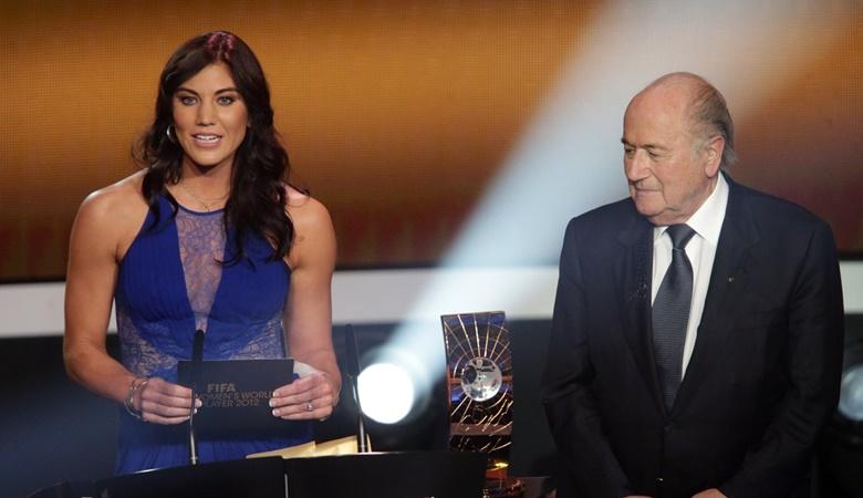 Hope Solo Tuduh Sepp Blatter Lakukan Pelecehan Seksual