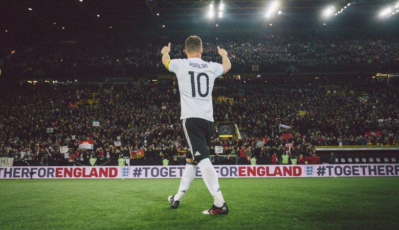 Laga Perpisahan yang Indah bagi Lukas Podolski