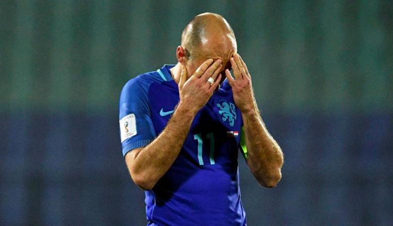 Robben Sebut Kekalahan Belanda dari Bulgaria Sebagai Mimpi Buruk