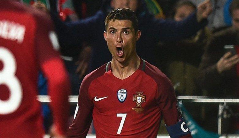 Ronaldo Jadi Pencetak Gol Internasional Terbanyak Ketiga di Eropa