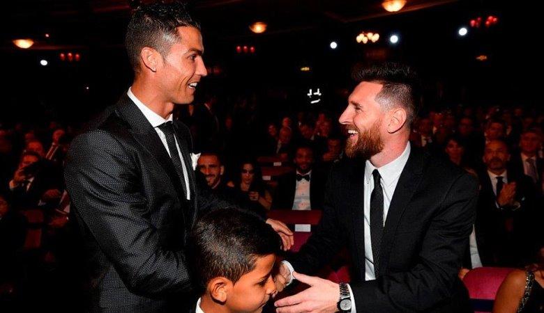 Ronaldo Ungguli Messi dalam Penghargaan Ballon d`Or 2017
