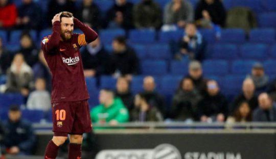 Kekalahan Barcelona, Kemenangan Espanyol Selama Sembilan Tahun