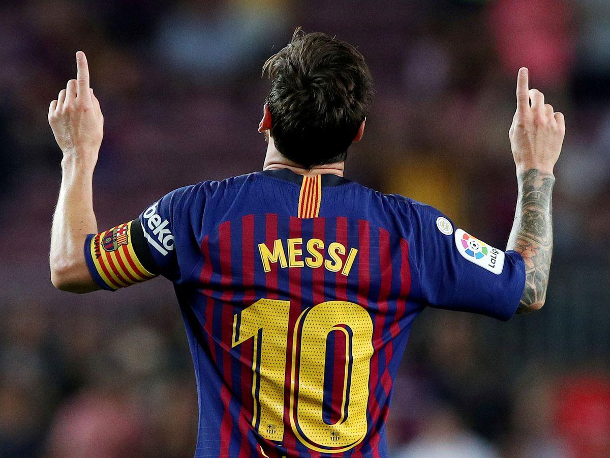 Makna Dibalik Selebrasi Gol yang Sering Dilakukan Lionel Messi